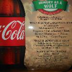 Menu for Hungry Like A Wolf