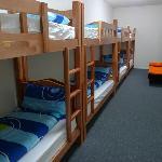 8 beds dorm