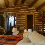 Cabin, view from bed