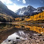 Maroon Bells during our Sept 2012 visit