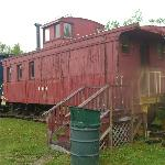Example of old train