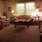 Living Room replica (although true fans will know the inaccuracies :)) of the Walton home (museu