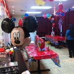 Party organised