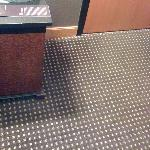 carpet it's a bit tired