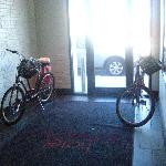 Bikes to use.