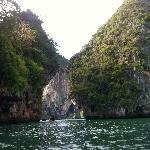 Kayaking on Phra Nang beach