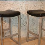 barstools at 912's granite breakfast bar