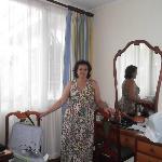 En la habitación del hotel Le Bergerac