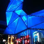 Mall near hotel.