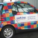 Cute Park Inn cars