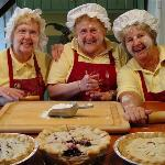The Pie Moms of Berry Manor Inn in Rockland, Maine