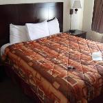 Bett,sehr sauber und bequem