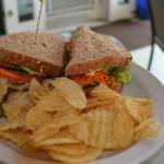 Veggie Sandwich at Kona Coffehouse & Cafe Honaunau