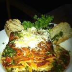 Holuakoa Cafe Veggie Lasagna