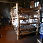 Bunk beds - Pioneer Cabin