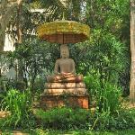 The Buddha in the Garden