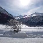 the ski route