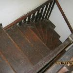 The stairs at Mama's