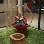 Swing in Lobby