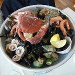 la plateau de fruits de mer ; très décevant !!!!!!