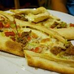 Pide (mixed meat)