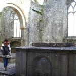 exploring the inside of the friary