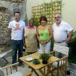 Wij danken Luis en Nita voor een fantastisch verblijf