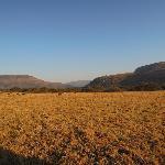 Traumhaft schöne Landschaft umgibt Old Joe's Kaja