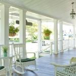 Ahh, that big wonderful breezy porch. Race you to the swing!