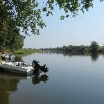 Looking down Kafue River from Lodge