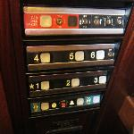 Funky elevator bottons