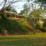 The Lodge from the camping ground