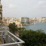 view from balcony to st Julians