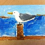 Painted by a Student in Summer Camp