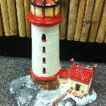 Handpainted Ceramic Lighthouse