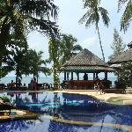 swimming pool and ocean