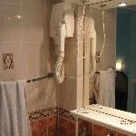 bagno munito di phon