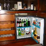 Mini Bar before Cocktails were had