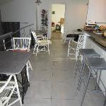 la salle à manger et cuisine commune