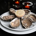 Fresh Oysters at Gamba Glasgow