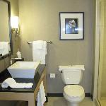 modern and spotless bathroom