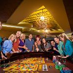 Play Craps - One of 40 table games!
