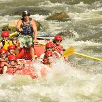 Whitewater rafting trip from Glenwood Canyon Resort