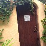 Spa door