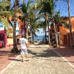 Town of Sayulita. Shops, dining, and beach