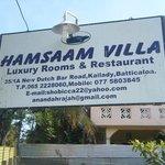 Hamsaam Villa