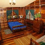 Our lovely bedroom in the Savanna guesthouse!