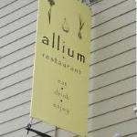 Allium sign