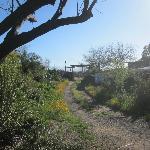 Eingang zum Camp