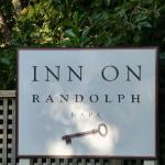 Sign at the Front of the Inn